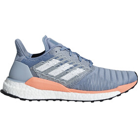 adidas SolarBoost Naiset Juoksukengät , sininen/valkoinen